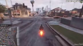 Some Of The Best GTA Stunts And Wins!