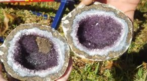 What The Insides Of An Amethyst Geode Looks Like!