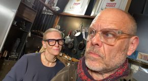Alton Brown From Good Eats Cooks With His Wife, Both Are Drunk!