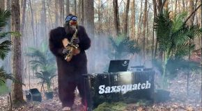 Saxsquatch Plays Some Careless Whisper!