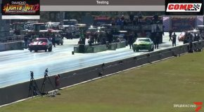 Camaro Drag Car Flies Off While Racing, Still Lands Perfectly!