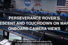 Clip Of The Perseverance Rover's Descent Onto Mars