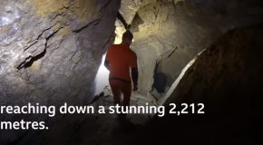 Diving Into The World's Deepest Cave!