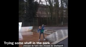 Girl Records Her 1 Year Of Skating Progression!