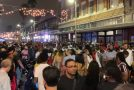Huge Crowds Gather In Ybor City The Night Before Super Bowl 55 In Tampa