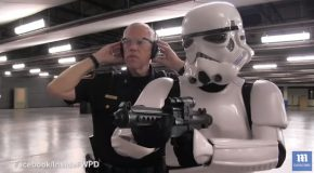 The Storm Trooper Tries To Join The Fort Worth Police Department!