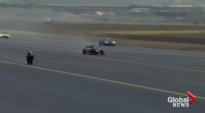 Superbike Wins A Race Against A Fighter Jet, F1 Car, And A Tesla!