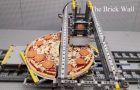 Cool Pizza Factory Made Of LEGO Blocks!
