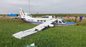 Emergency Landing Of A Skydive Plane With 17 Skydivers!