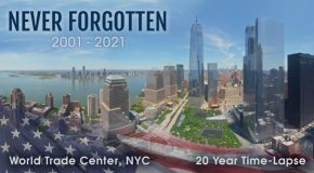 Incredible 20 Year Time Lapse Of The World Trade Center!