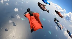 Flying Over The Maldives Islands In A Wingsuit!